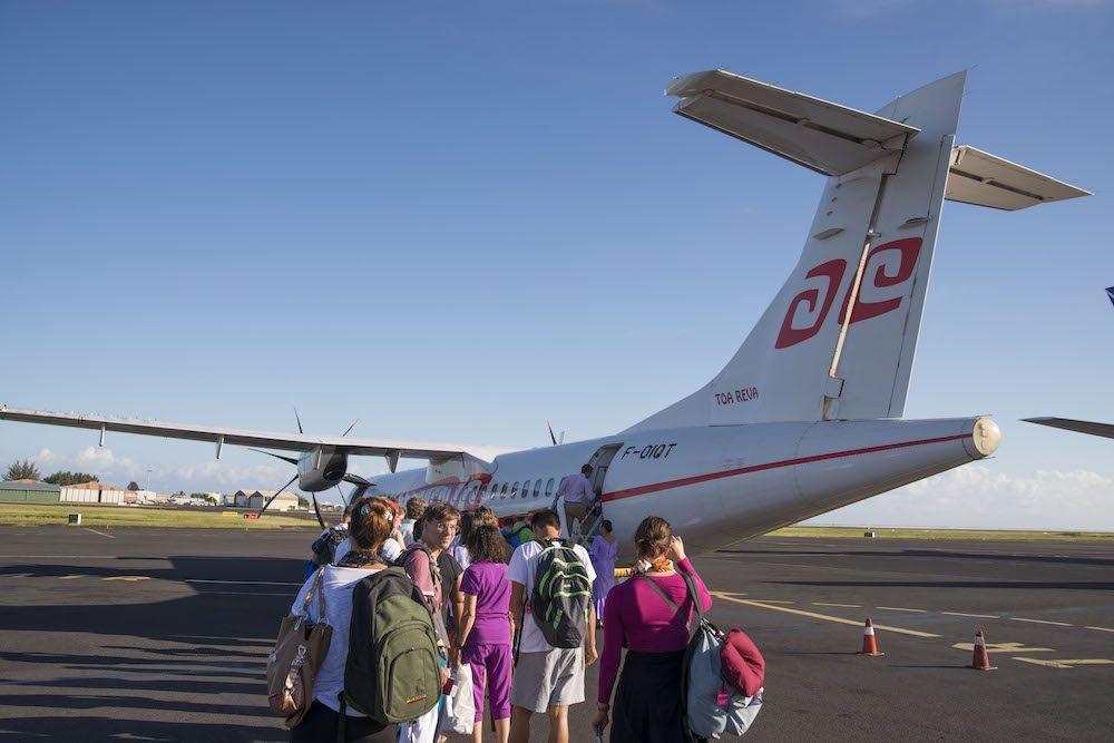 """ファアア国際空港からモーレア島へのアクセス"""""""