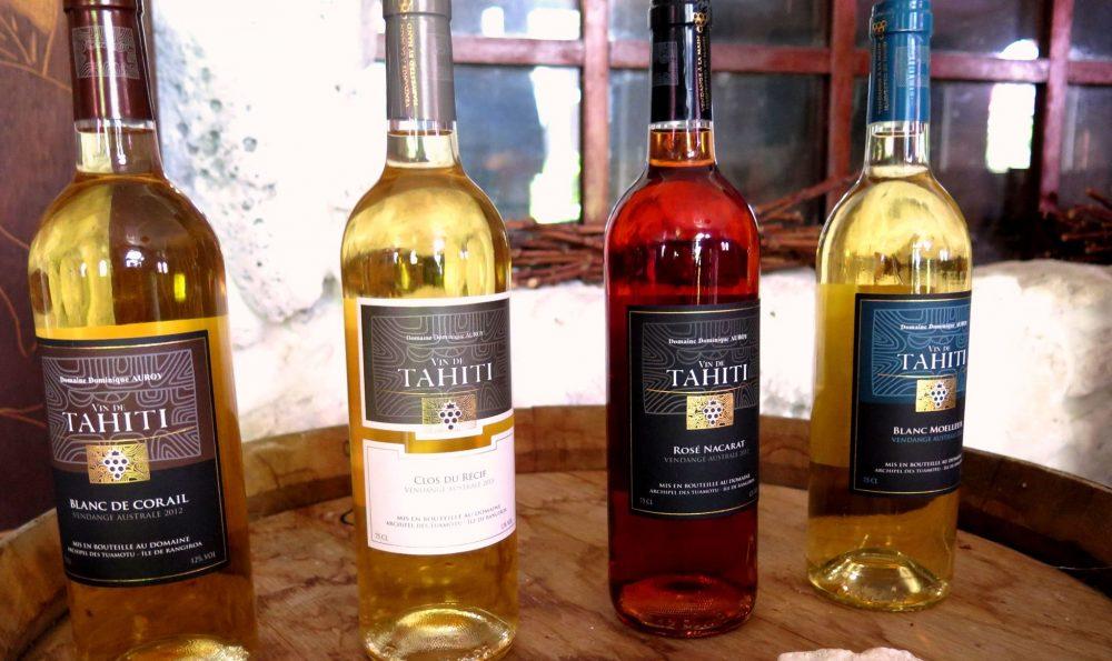 """ランギロア島産ワイン"""""""