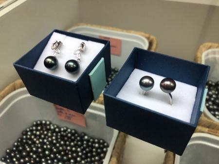 パペーテでお買い物!おすすめのお土産① 黒蝶真珠