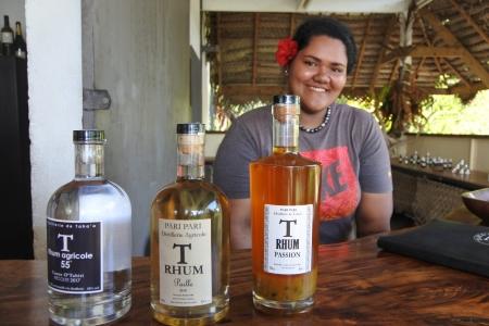 タハア島で作られる芳醇な香りのラム工房 PARI PARI